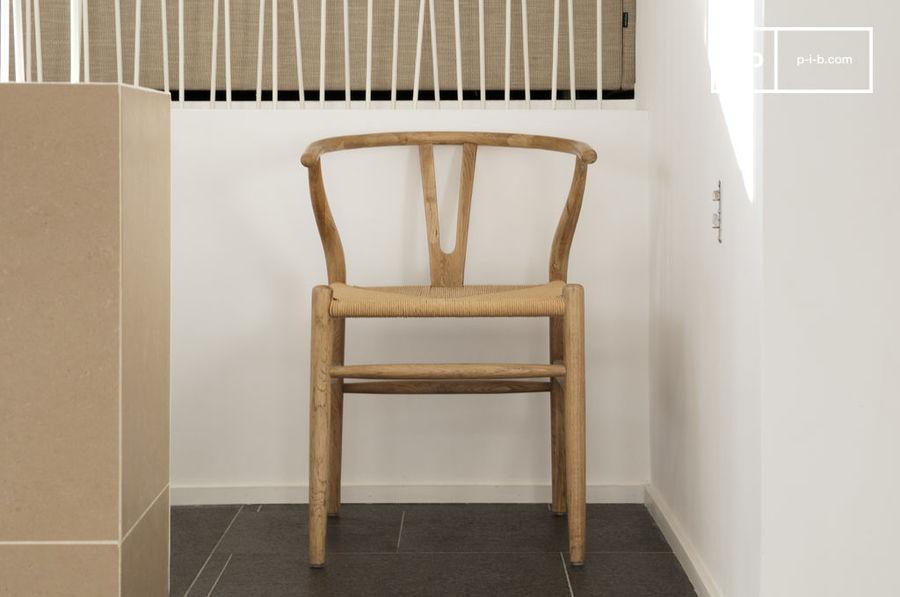 La chaise scandinave apporte une touche de design dans votre intérieur