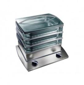 la cuisson à basse température ou à la vapeur conserve la qualité des aliments